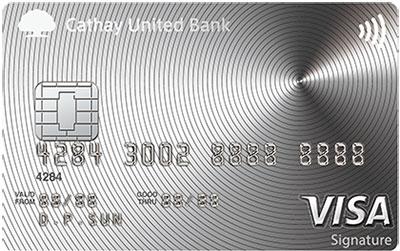 國泰世華 現金回饋信用卡