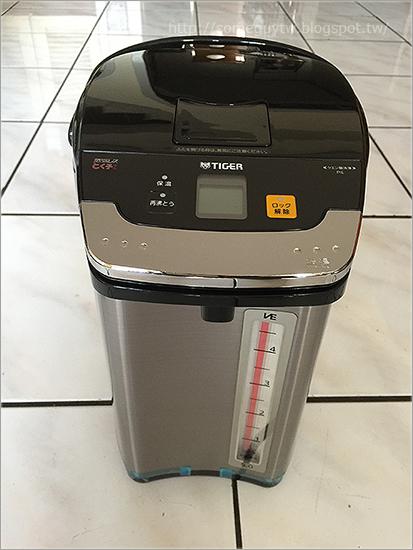 [日本購物] 虎牌VE 電熱水瓶 PIE-A500 日本購買與開箱分享 (含與象印CV-WK、GA、DG比較/推薦)