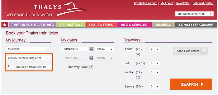 [比利時交通] 什麼是ABS優惠?跨國列車 Thalys + ABS 車票訂票方式與優惠說明