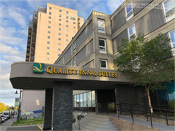 [黃刀鎮住宿] Quality Inn 市中心高CP值入住首選:免費機場接駁及早餐