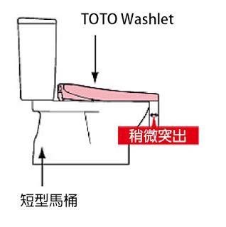 Toto washlet dim4