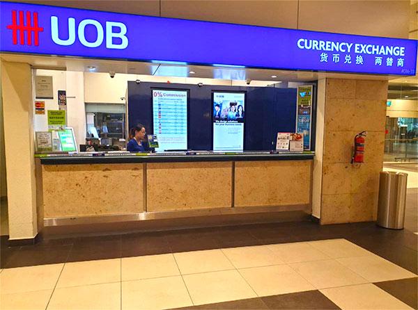 UOB counter
