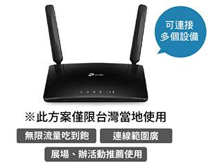 WIFI router 適合使用範圍較大情況