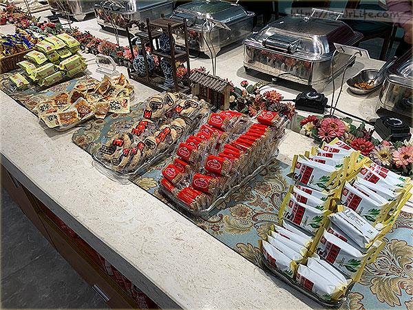 南京祿口機場-國際頭等艙V7貴賓室餐點