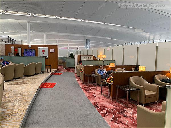 南京祿口機場-國際頭等艙V7貴賓室內裝