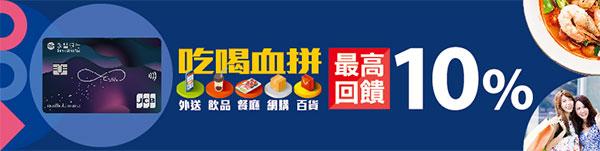 永豐現金回饋JCB信用卡 吃喝血拼10%回饋