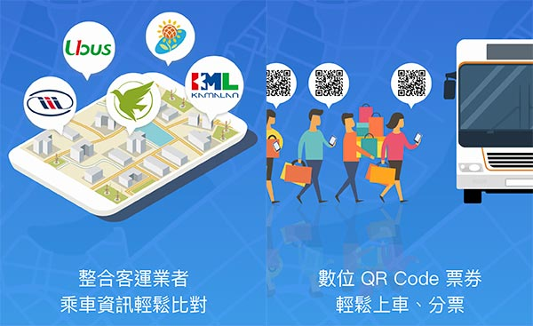 台北轉運站APP直接購買客運巴士車票