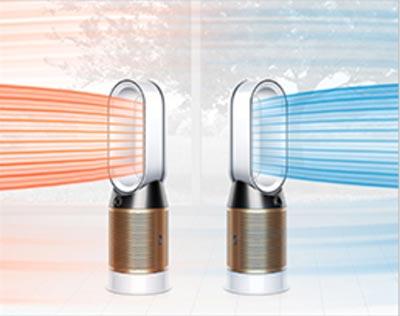 Dyson空氣清淨機具備有冷、暖與淨化三合一功能