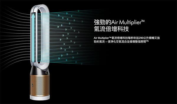 Dyson 空氣清淨機:氣流倍增技術